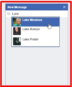 facebook messages online