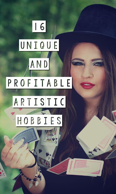 16 Unconventional and Profitable Artistic Hobbies. Hobbies that make money. Hobbies that earn you money. Side hustles. Unique hobbies to discover. Profitable hobbies. Make money from home. Side jobs. Hobbies that pay well. Weird hobbies. Weird ways to make money. Unusual ways to make money. Searches related to hobbies that make money list of hobbies that make money hobbies that pay well profitable hobbies list hobbies that make money for stay at home moms money generating hobbies hobbies that can make you rich hobbies that make money uk