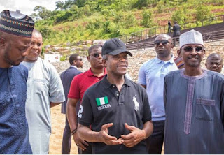Acting President Yemi Osinbajo pays visit to 12-12 polo club in Abuja