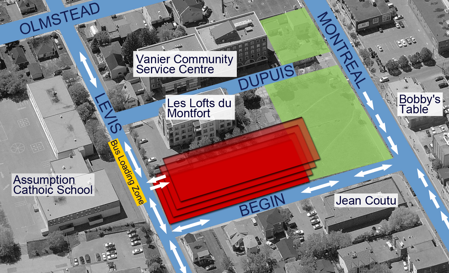Garage Design Ottawa Update On 250 Montreal Road Vaniernow