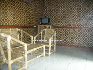 ruang keluarga 3 kamar di wisata ciater