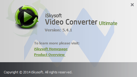 iSkysoft Video Converter Ultimate 5.4.1