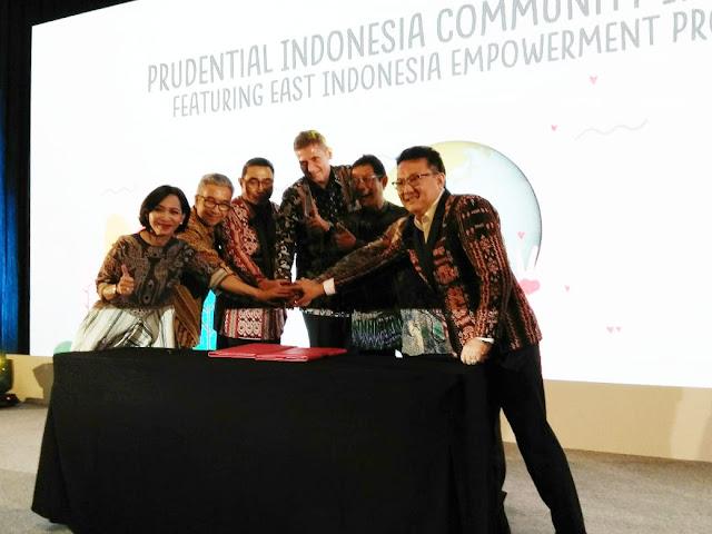 Prudential Peduli Dengan Meluncurkan Program Pemberdayaan Indonesia Timur