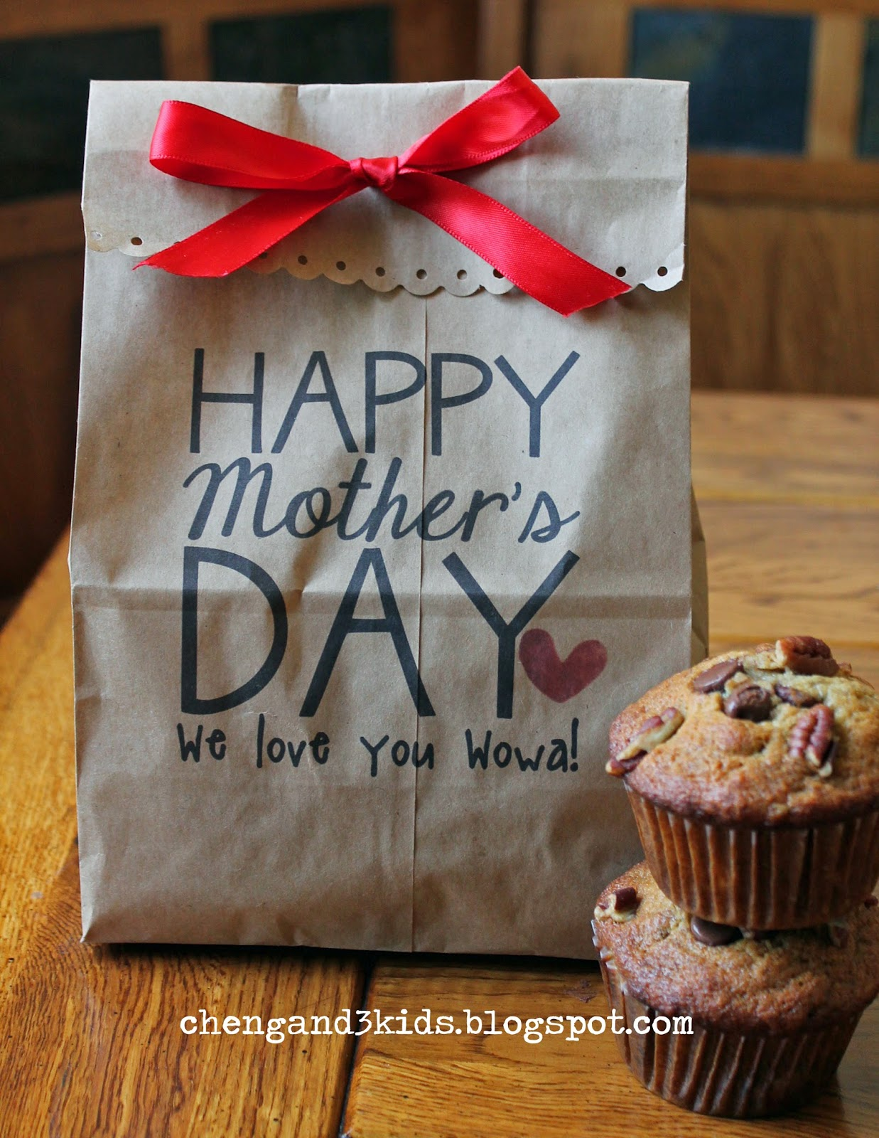 Mother's Day Gift Bag by chengand3kids.blogspot.com