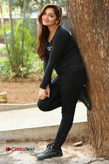 Actress Aswini Latest Stills in Black Denim Jeans  0169.JPG
