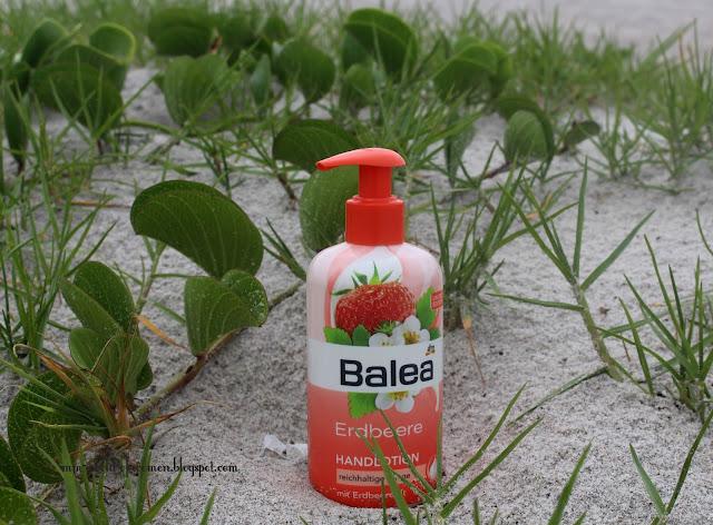 Krem - balsam do rąk Balea o zapachu Truskawk