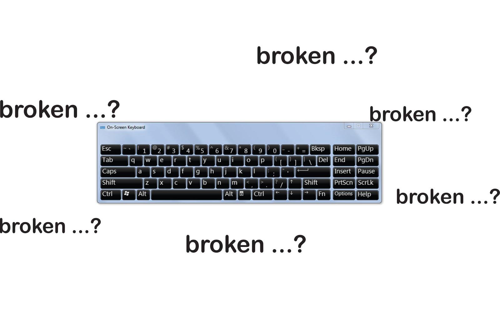 Tutorial Cara Memperbaiki Keyboard Laptop Yang Rusak Ikramlink