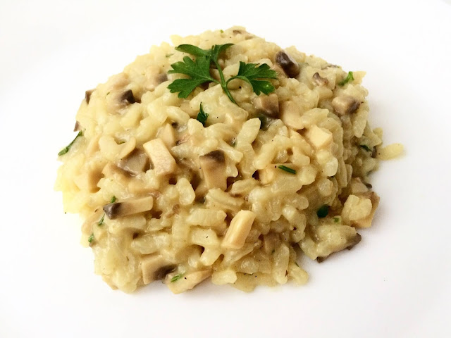 Gotowanie po włosku: risotto ai funghi
