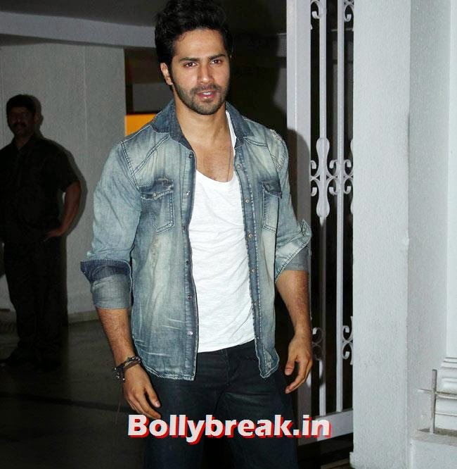 Varun Dhawan, Karan Johar Birthday Party Pics 2014