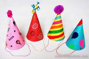 3 bước làm mũ trang trí sinh nhật cho bé cực đẹp 5