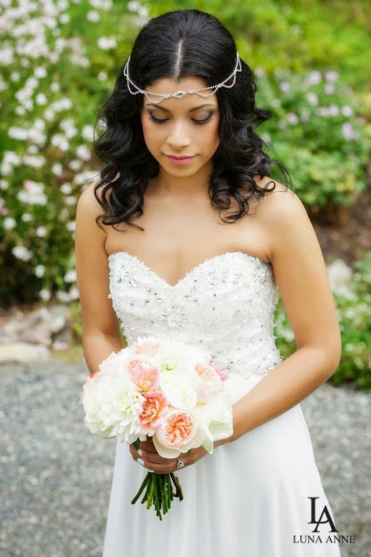 Bridal Makeup - Soft Smokey Eye and Airbrushed Skin for a Beautiful Garden Wedding