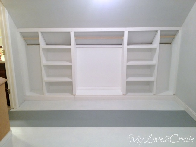 Built In Closet Wall How To Build A Builtin Closet Builtins From