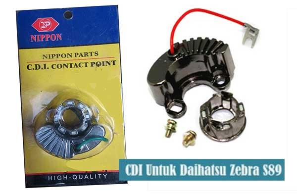 Mengubah Platina Ke CDI Daihatsu Zebra