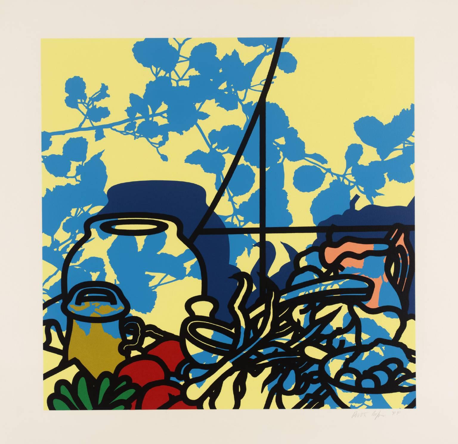 ART & ARTISTS: Patrick Caulfield - part 2