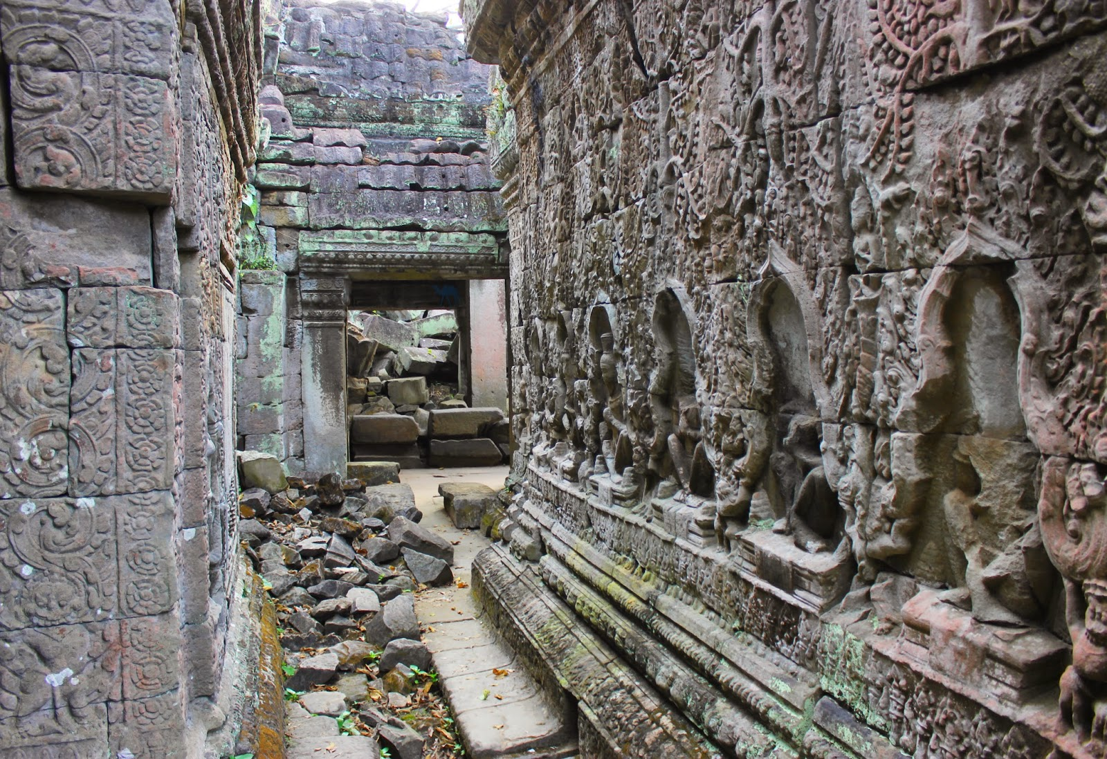 dedales d'Angkor - Siem Reap - Architecture Khmer - Cambodge
