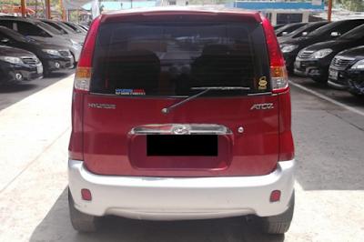 Eksterior Hyundai Atoz Prefacelift