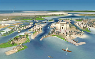 Lost Egyptian city of Heracleion recreated in 3D