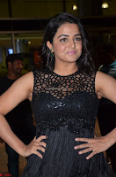 Wamiqa Gabbi in a sleeveless Black Designer Transparent Gown at 64th Jio Filmfare Awards South ~  Exclusive 056.JPG