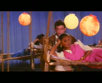 Shankar's manly gait is blocked by a swinging ho