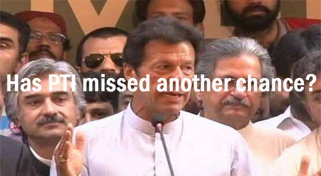 In getting maximum political mileage out of the Panama leaks - Has PTI missed another chance?