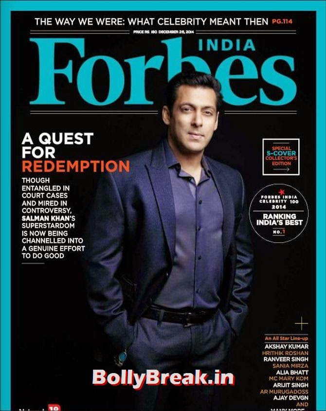 Salman Khan, Bollywood Actors Hot & Sexy Pics on Magazine Covers