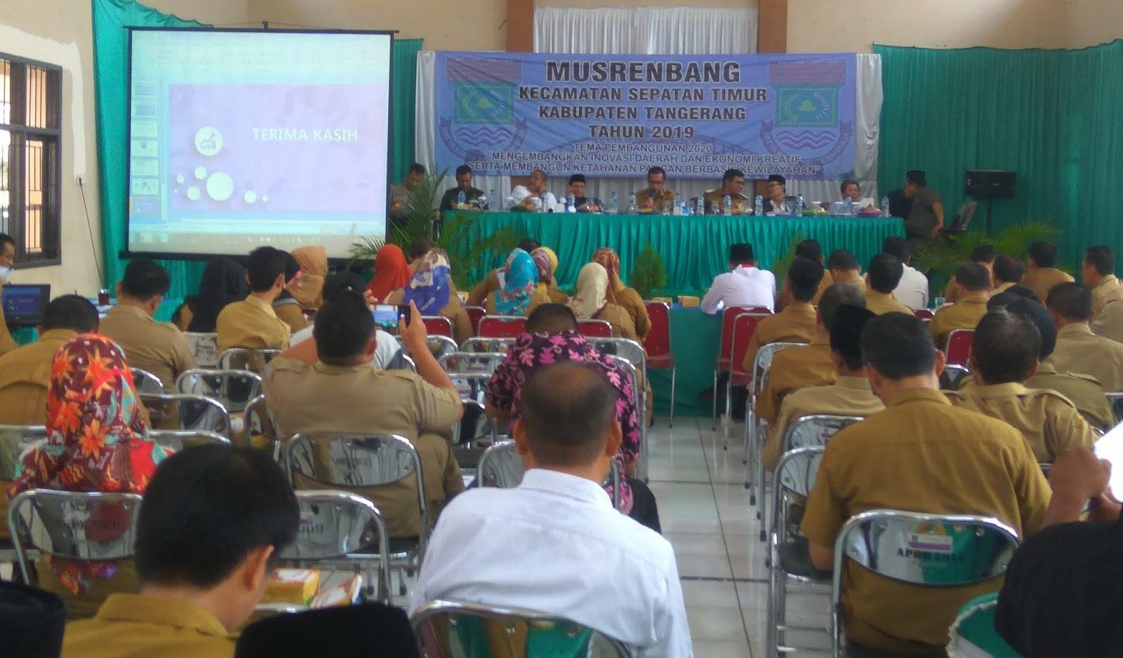 Musrenbang Kecamatan Septi,  Perlu Penambahan Sarana Pendidikan di tahun 2020