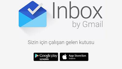 Google Inbox Yeni Gelen Kutunuz