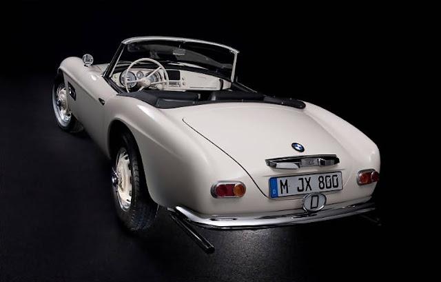 BMW 507 Elvis Presley Restoration