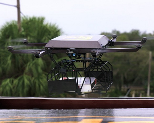 www.Tinuku.com UPS and Workhorse test drone and ORION system for multi-task package delivery in remote areas