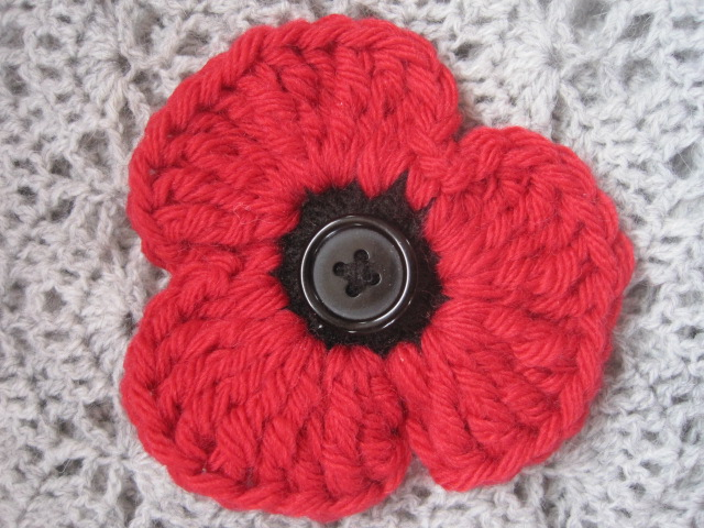 A Life Wrapped In Thread Tillys Remembrance Poppy Corsage Free