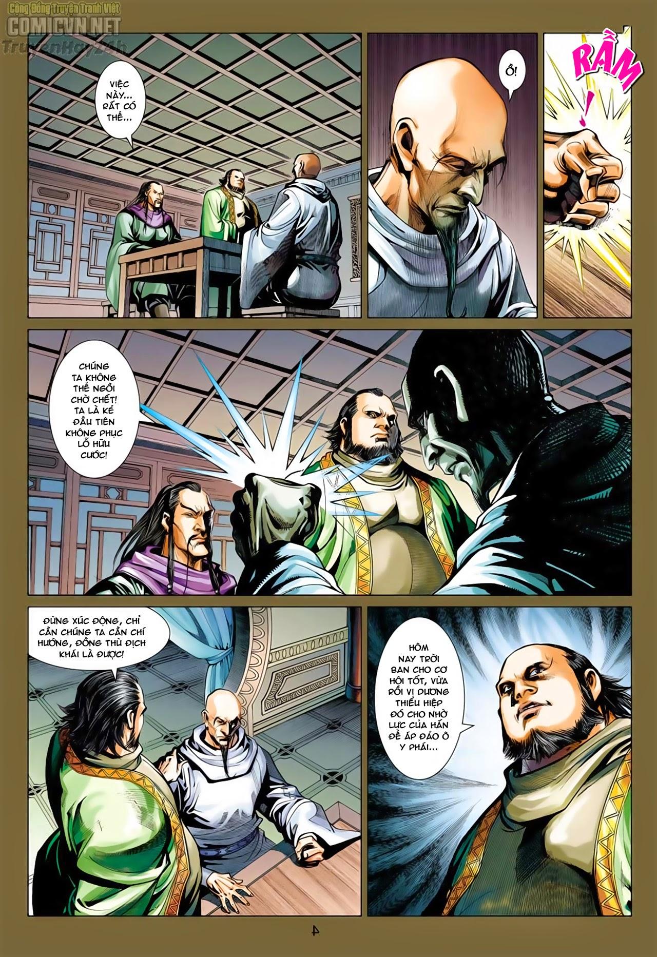 Anh Hùng Xạ Điêu anh hùng xạ đêu chap 66: nhạc châu đại hội trang 5