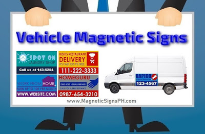 Vehicle Magnetic Signs