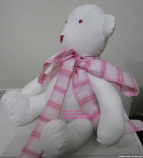 8 - Primeiro urso  de pano