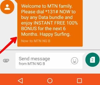Double Your MTN Data Via IMEI Tweak - 100% Double Data Offer