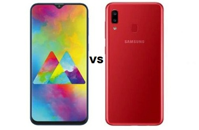 Samsung Galaxy A20 lunch in India and Samsung Galaxy A20 vs Galaxy M20 Who is better