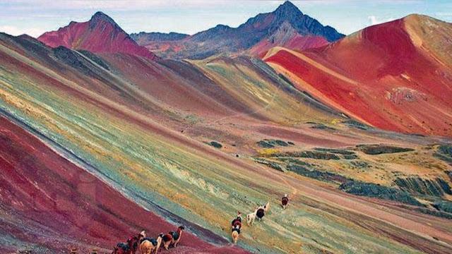 Cruzando la Montaña de los Siete Colores, Cusco