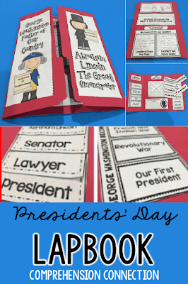 Presidents' day teaching ideas including book suggestions, free resources, and technology links included.