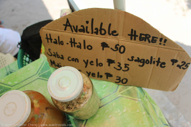 Halo-Halo in Cagbalate Island, Quezon Province