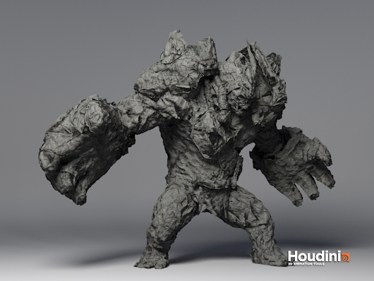 Houdini Material Transitions