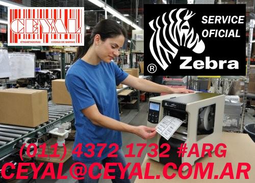 Codigo de barras zebra Gc 420t