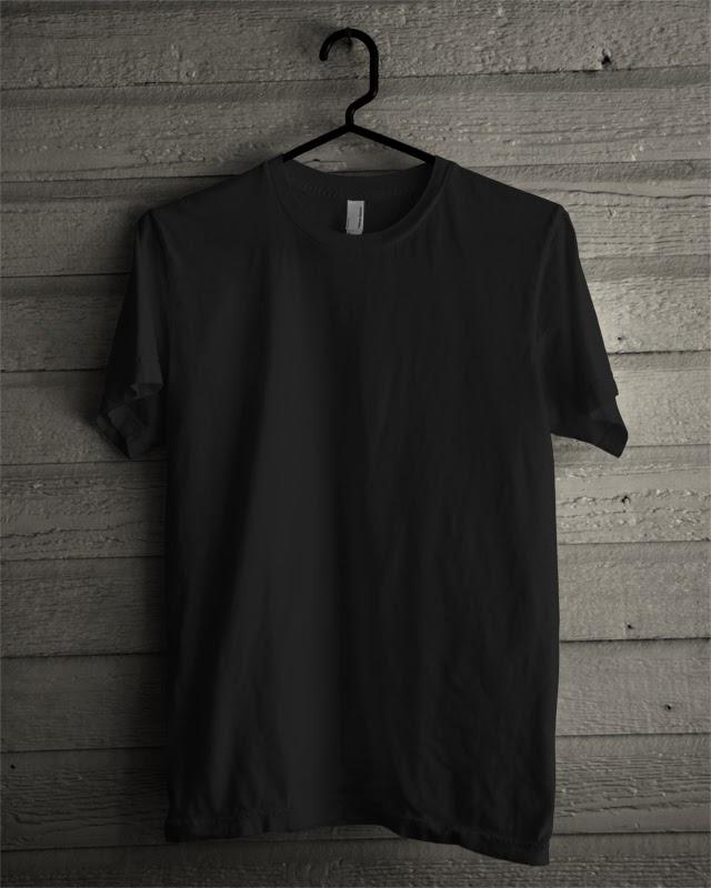 Gambar Desain Baju Hitam Polos - Koleksi Gambar HD