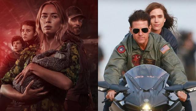 """""""Um Lugar Silencioso - Parte II"""" & Top Gun: Maverick"""