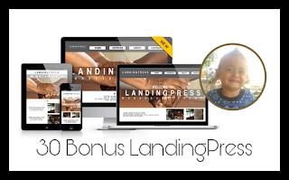 30 Bonus Landing Press