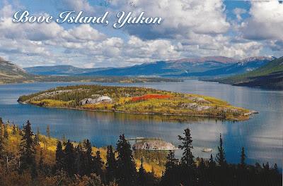 Bove island Yukon Canada