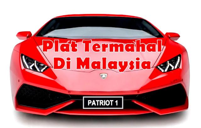 """PATRIOT 1""  Plat Kereta Paling Mahal Di Malaysia"