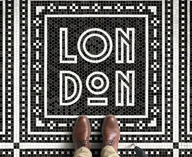 Mosaicos tipográficos, inspirados en ciudades de todo el mundo