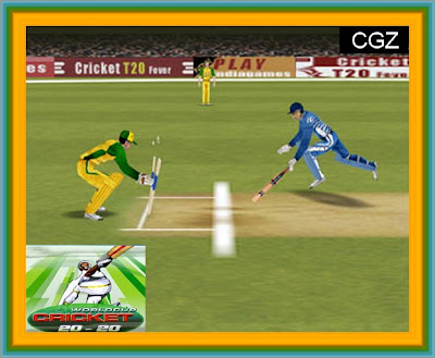 World Cup Cricket 20-20 Game Play