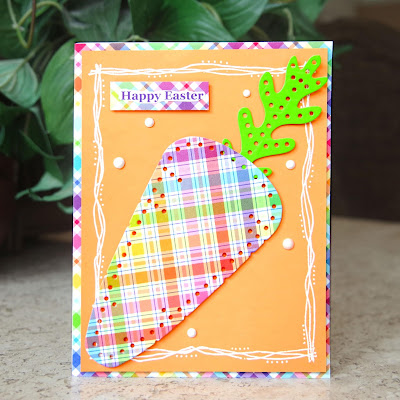 Lawn Fawn's Perfectly Plaid designer paper.