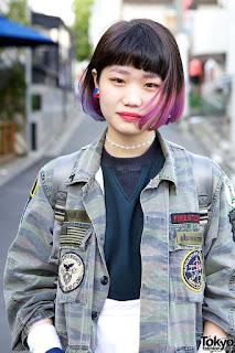 ทรงผมสาวญี่ปุ่น