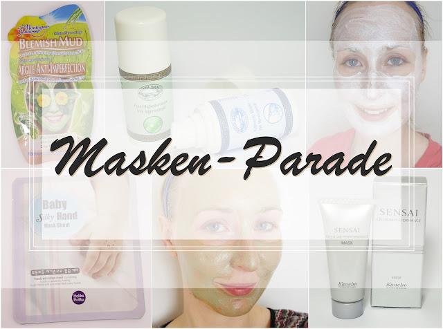Masken-Parade: mit Sensai, Montagne Jeunesse, Holika Holika und Bärbel Drexel